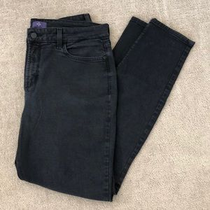 Black NYDJ Skinny Jean